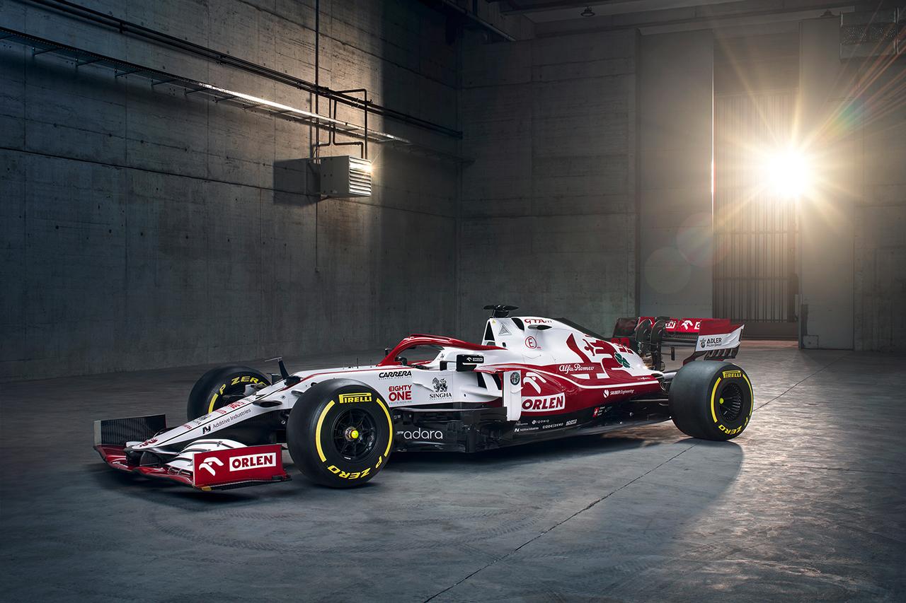 【速報】 アルファロメオF1、2021年F1マシン『C41』を披露
