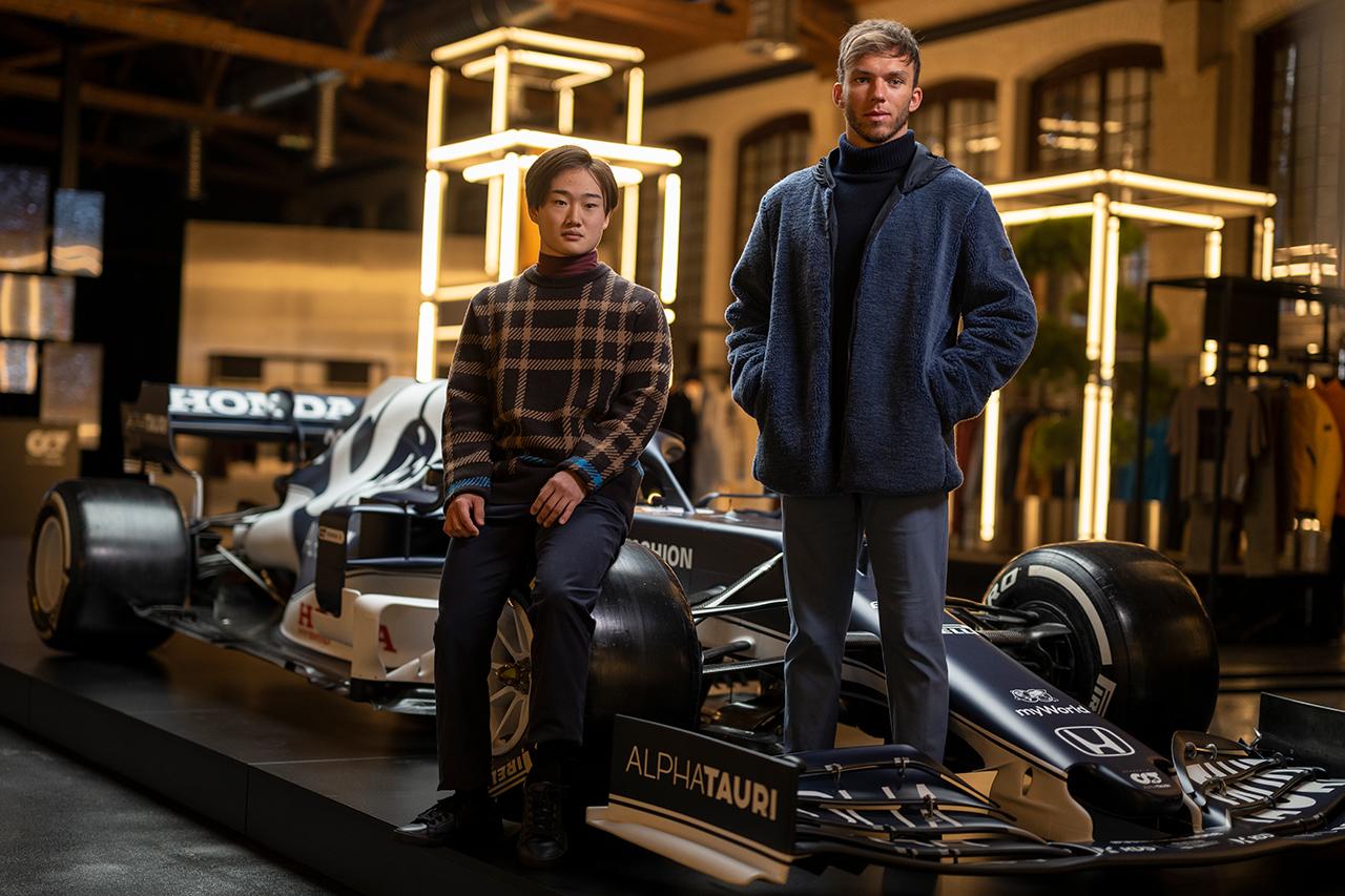 F1:角田裕毅&ガスリーが語るアルファタウリ・ホンダ『AT02』と『2021年』