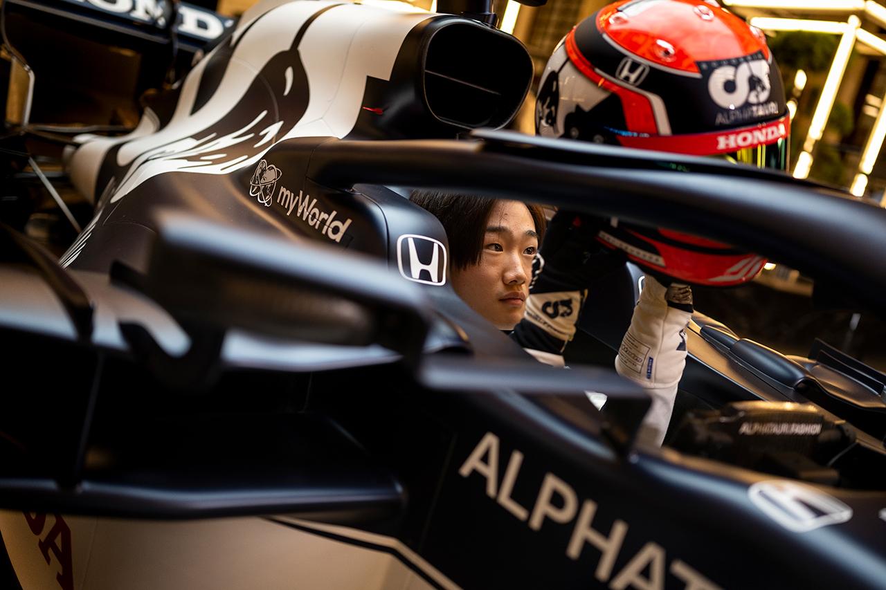 角田裕毅 「F1でレースに勝つ最初の日本人ドライバーになりたい」