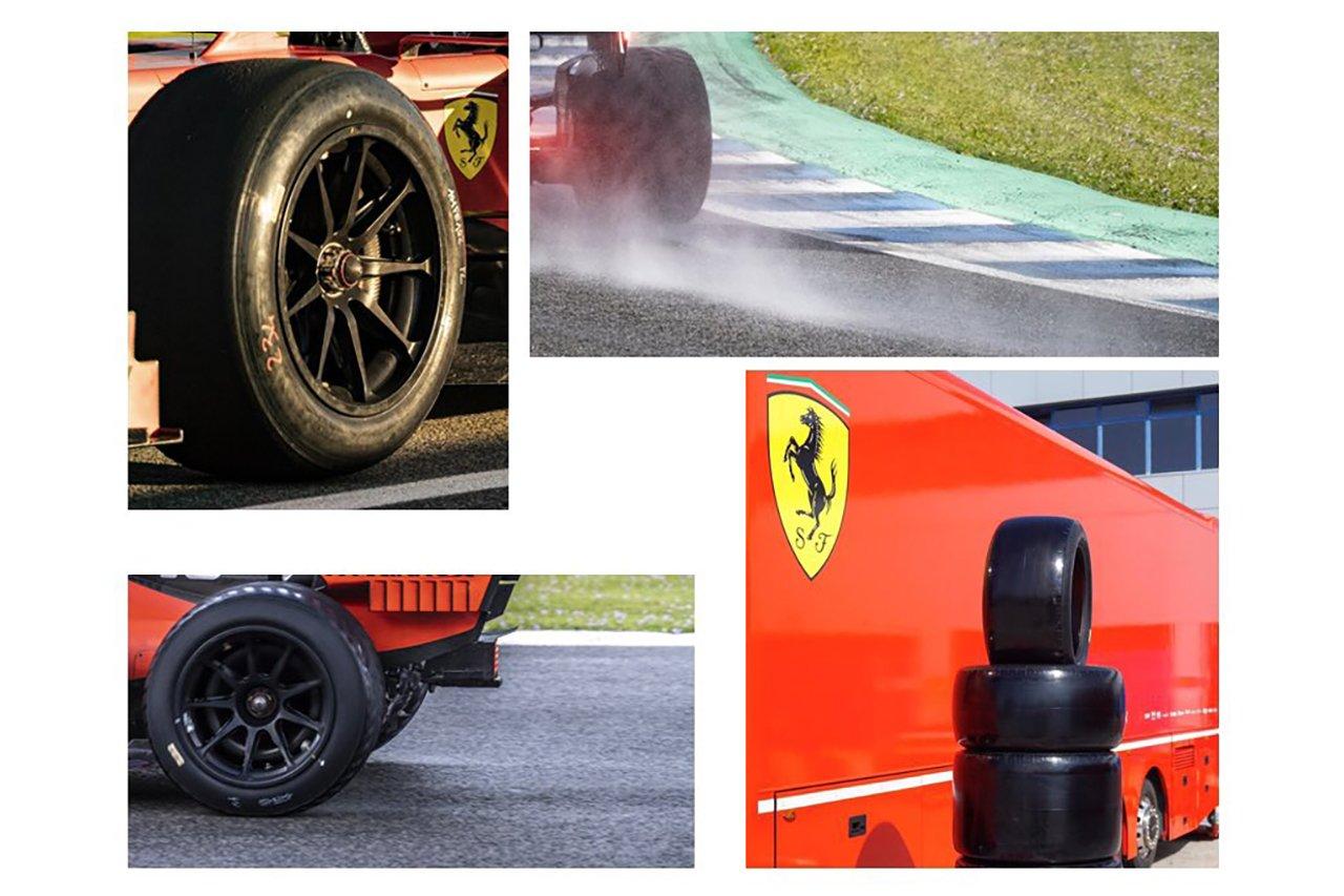 フェラーリF1、3日間の18インチタイヤテストで合計320周を走破