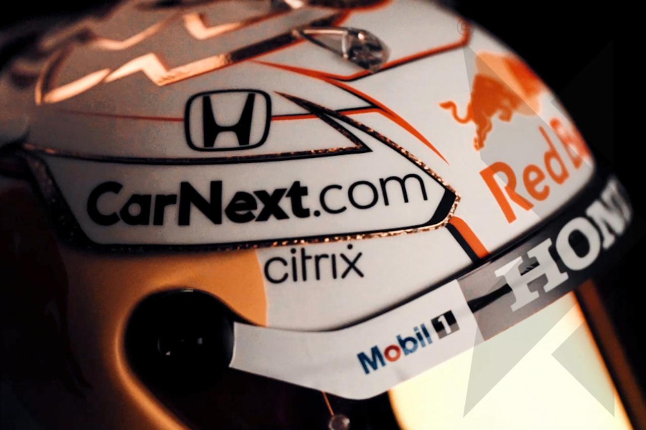 マックス・フェルスタッペン、2021年もヘルメットはホワイトを選択 / レッドブル・ホンダF1