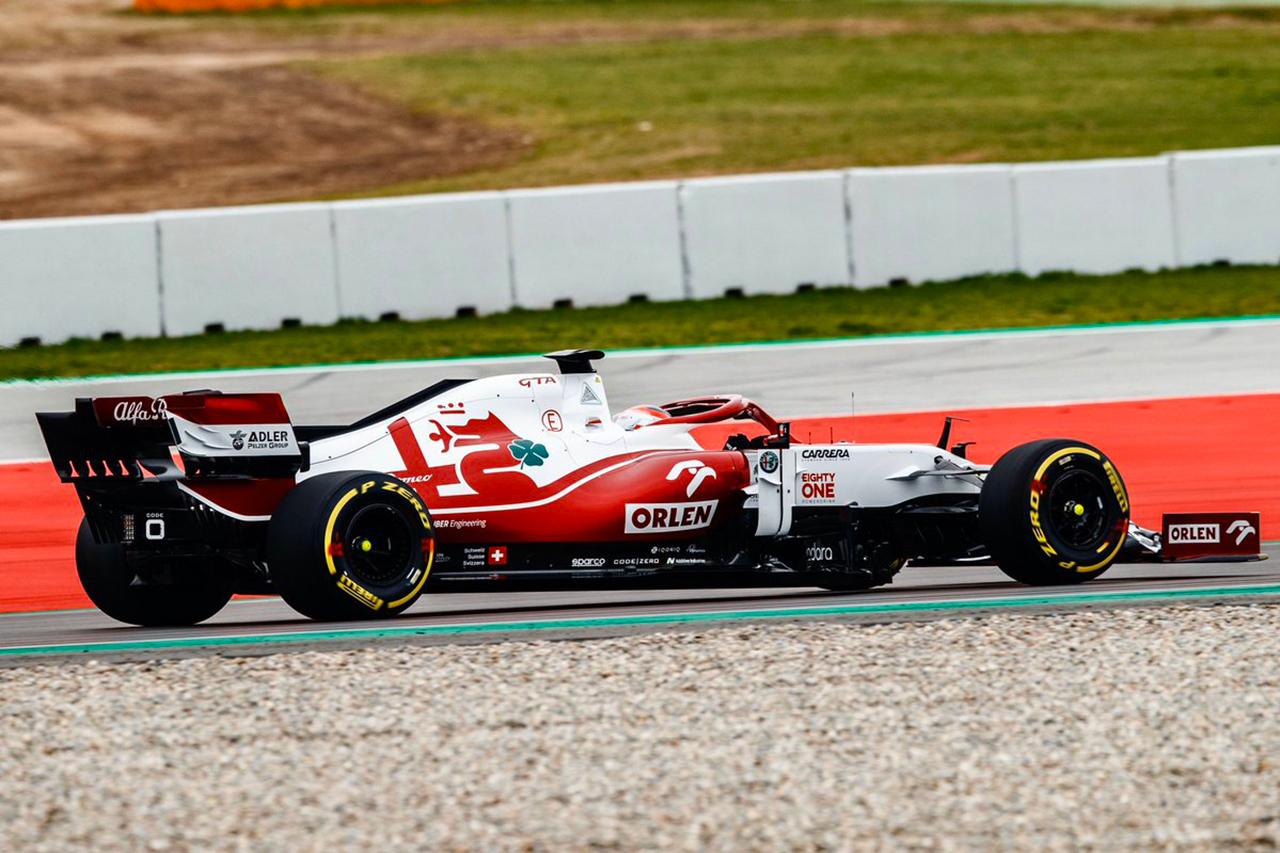 【動画】 アルファロメオF1、2021年F1マシン『C41』をシェイクダウン