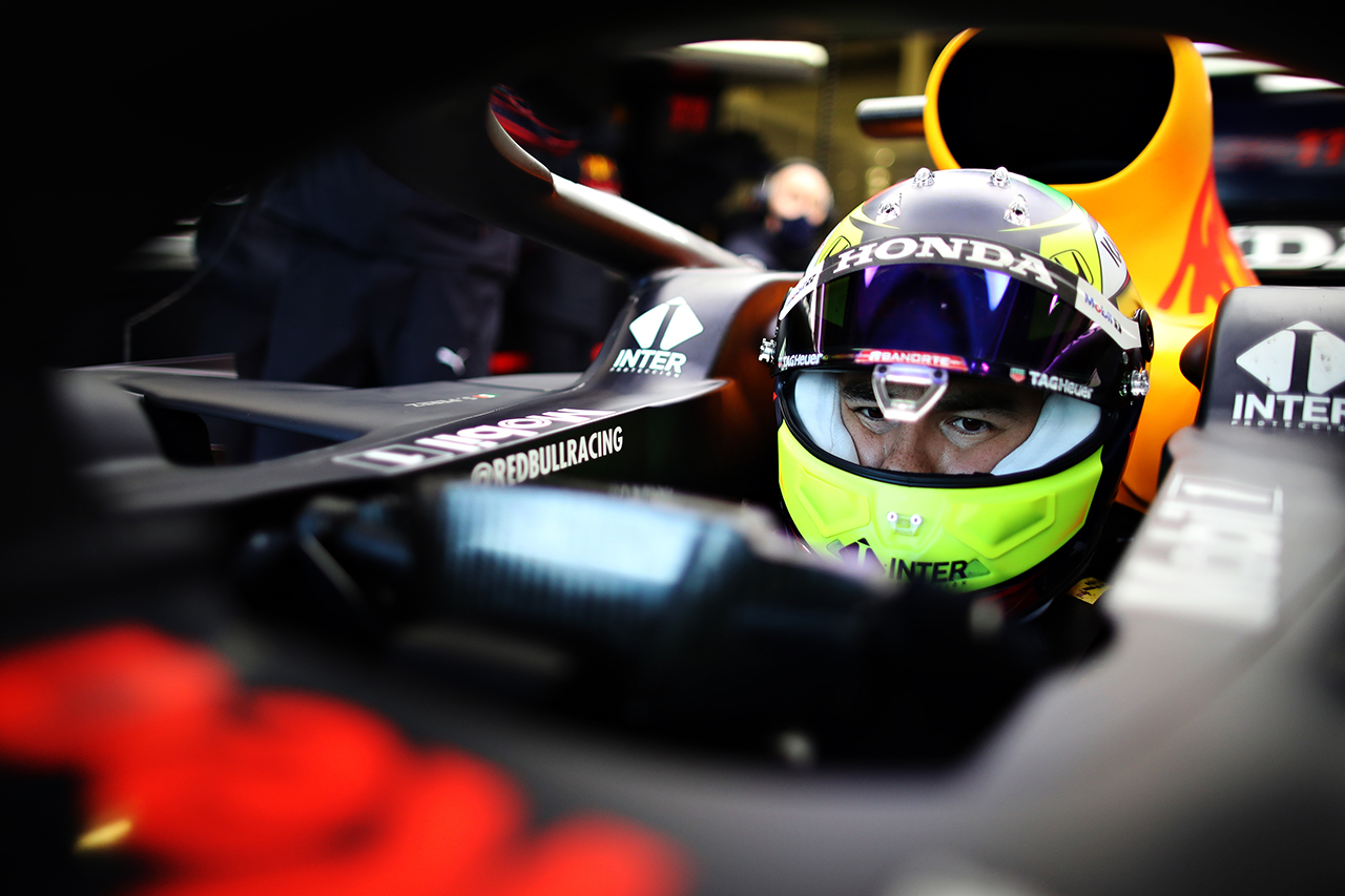 セルジオ・ペレス レッドブル・ホンダ F1