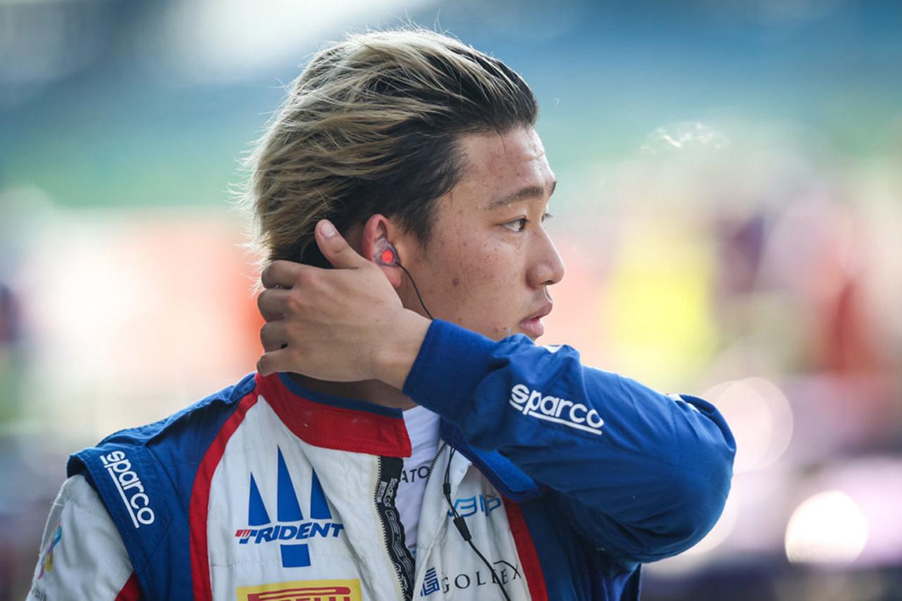 佐藤万璃音、2021年もトライデントからFIA-F2選手権への参戦が決定