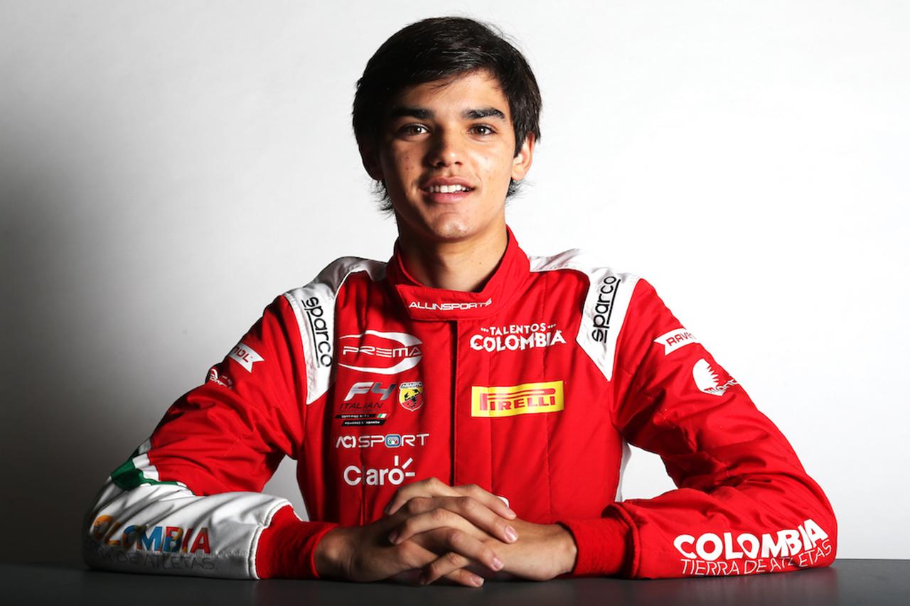 元F1ドライバーのファン・パブロ・モントーヤの息子セバスチャン、2021年もプレマからF4に参戦