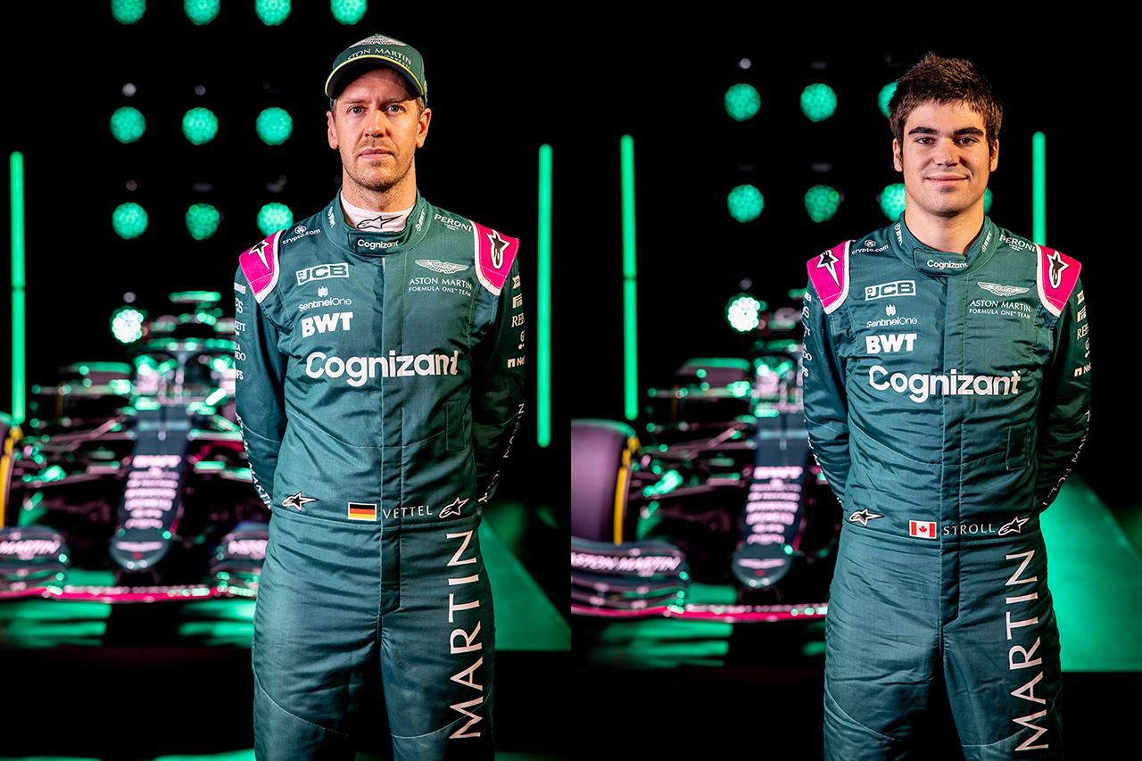 アストンマーティンF1、2021年仕様のレーシングスーツを披露