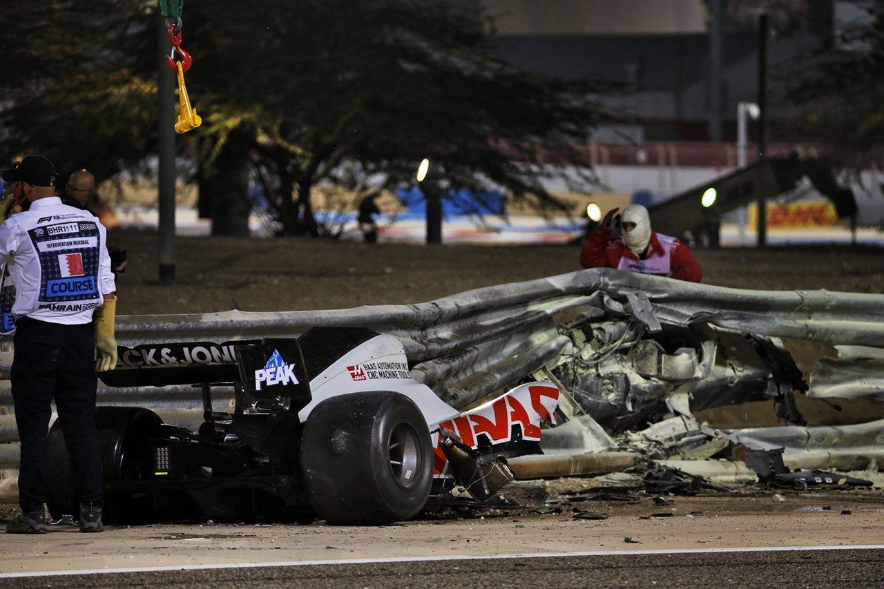 ロマン・グロージャン、F1バーレーンGPでのクラッシュの衝撃は67G…FIAが調査結果を発表