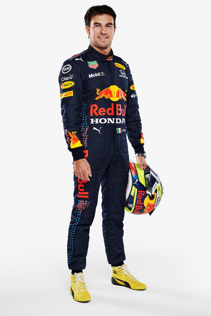 レッドブル・ホンダF1 2021年 レーシングスーツ(セルジオ・ペレス)