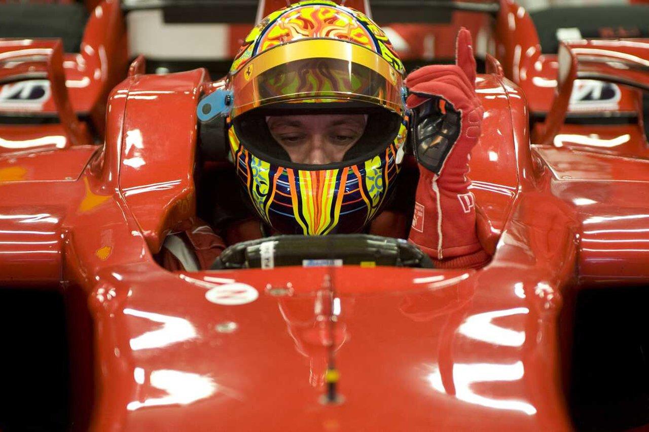 バレンティーノ・ロッシ 「フェラーリとのル・マン24時間レース参戦は夢」