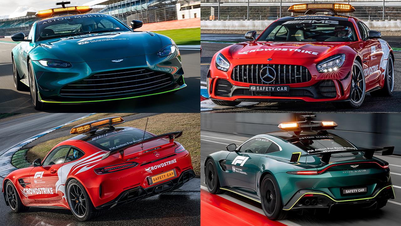 F1 新セーフティカー(2021年)