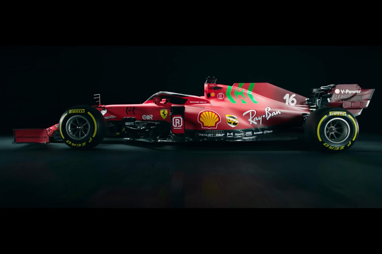 フェラーリF1、2021年F1マシン『SF21』を発表