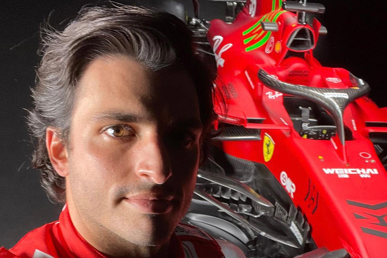 カルロス・サインツ フェラーリ 2021年 F1ドライバー
