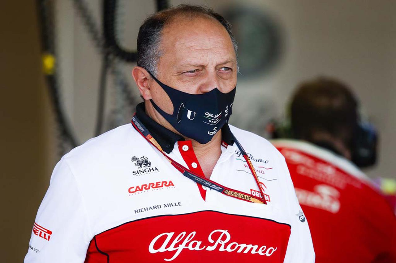 アルファロメオF1、チーム代表ヴァスールが新型コロナウイルスに感染…プレシーズンテスト参加を見送り