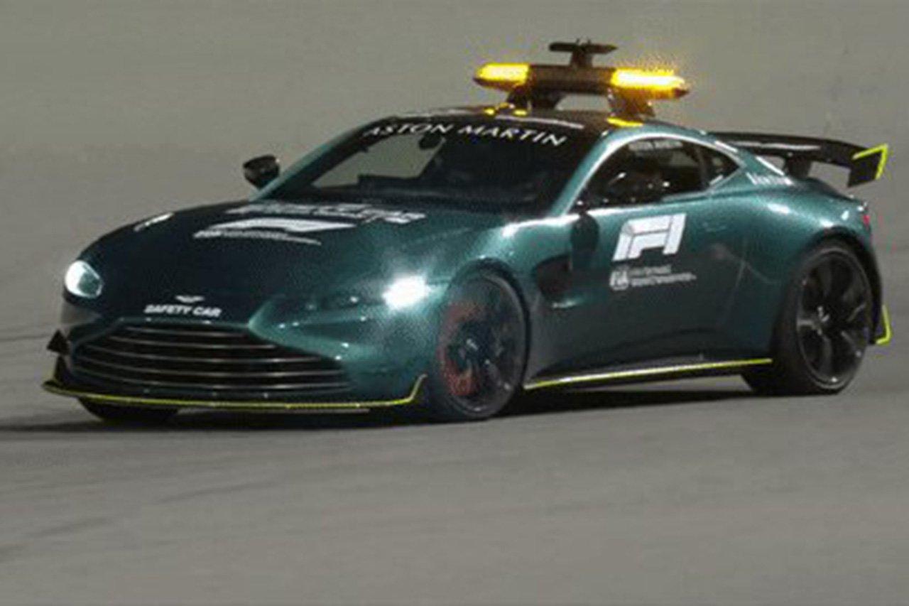 F1、アストンマーティンの公式セーフティカーの走行動画を公開