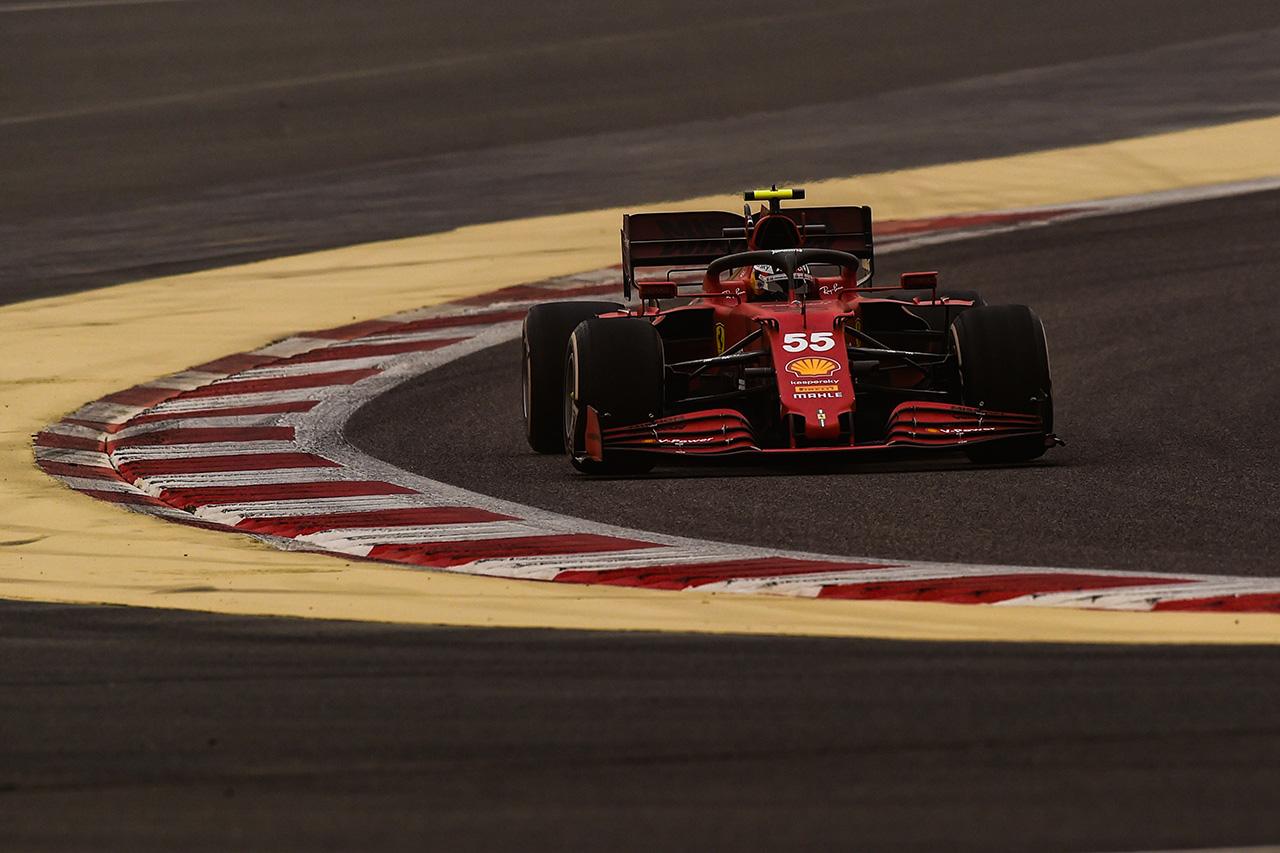 カルロス・サインツ スクーデリア・フェラーリ 2021年F1プレシーズンテスト1日目