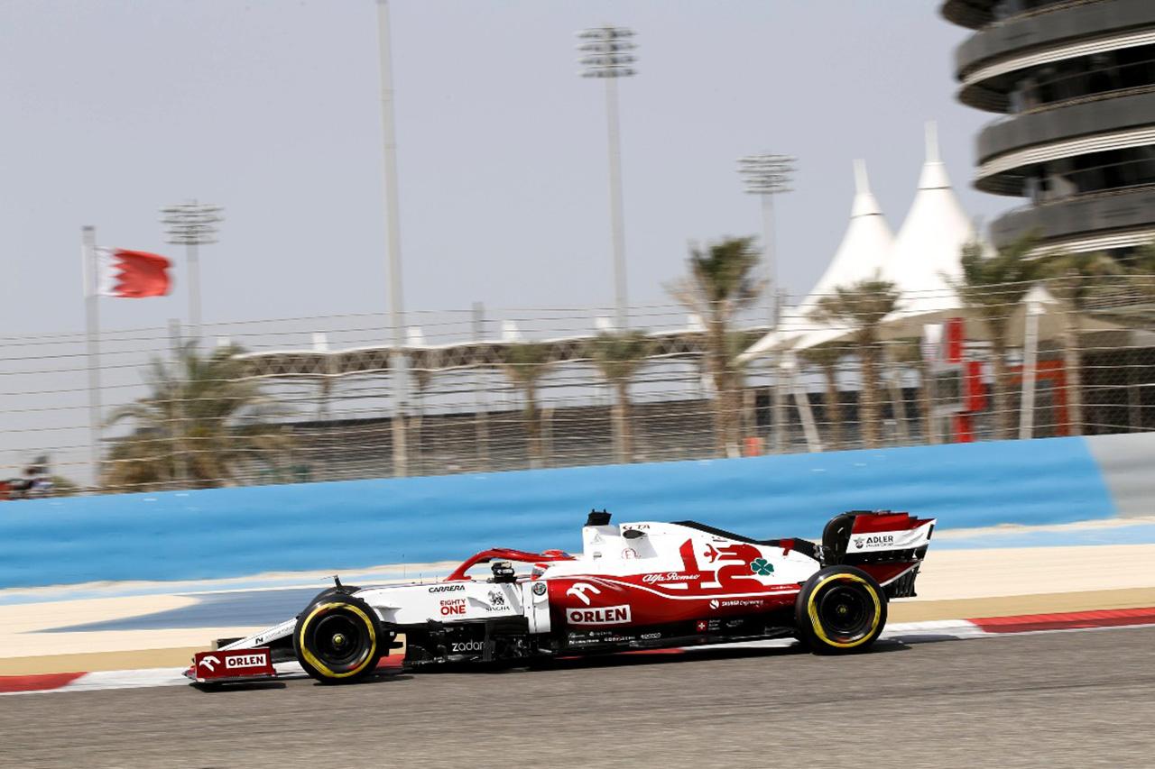 キミ・ライコネン アルファロメオ・レーシング 2021年F1プレシーズンテスト