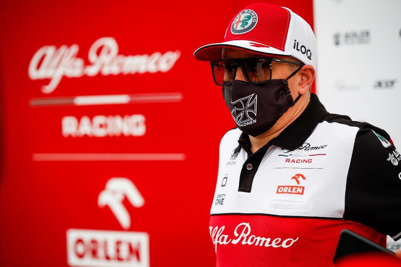 アルファロメオF1のキミ・ライコネン 「フェラーリのF1エンジンが改善したかはまだわからない」 / 2021年F1プレシーズンテスト1日目