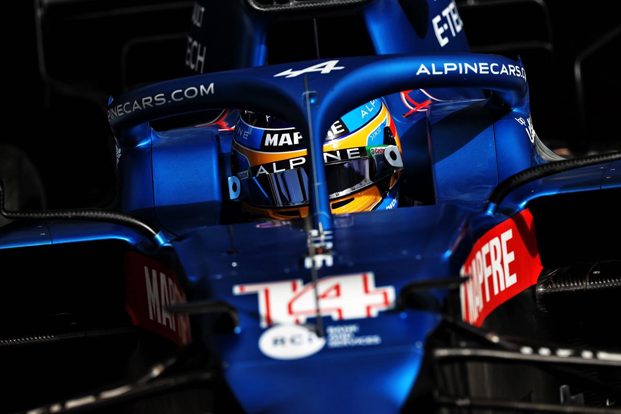 フェルナンド・アロンソ、127周を走行してアルピーヌF1『A521』に好感触 / 2021年F1プレシーズンテスト2日目