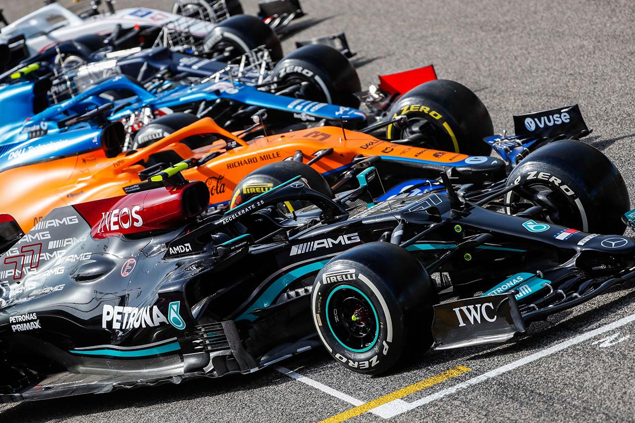 【2021年F1マシン】 ダウンフォース削減もラップタイムに差は生じず