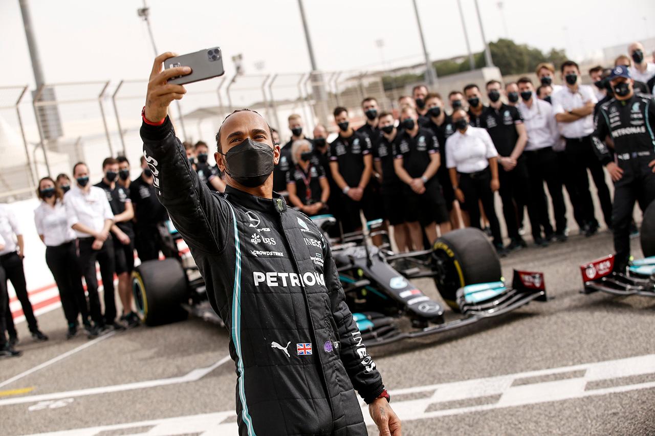 メルセデスF1のルイス・ハミルトン 「2021年はタフなシーズンになるだろう」