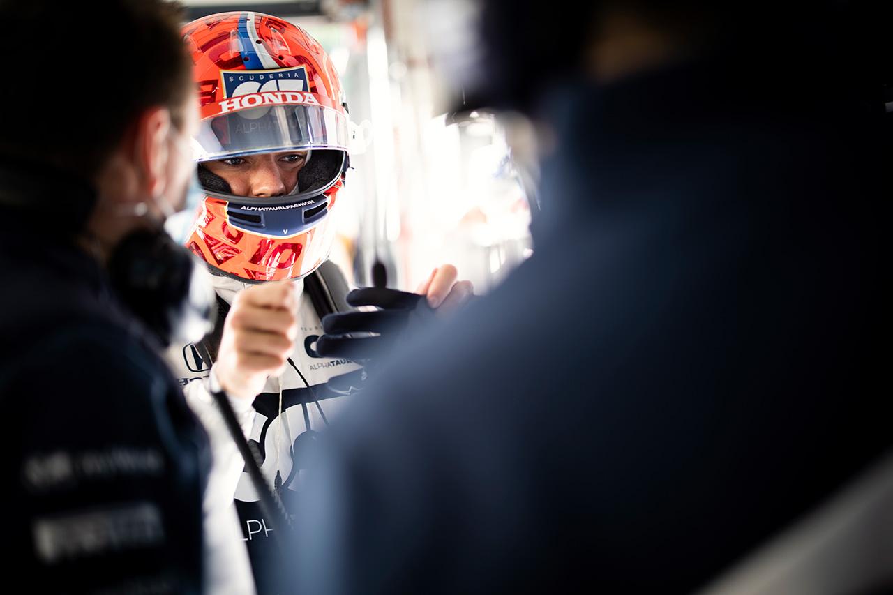 アルファタウリ・ホンダF1のピエール・ガスリー 「フェラーリは本来のペースを隠していた」