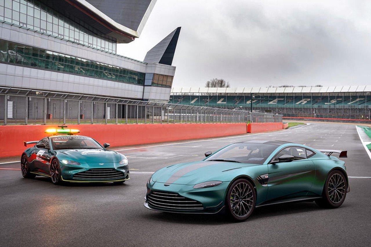 アストンマーティン、F1セーフティカー仕様「ヴァンテージF1エディション」を発表