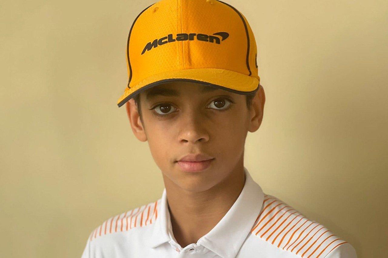 マクラーレンF1、米国出身の13歳ウーゴ・ウゴチュクウと育成契約