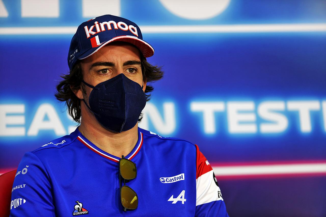 フェルナンド・アロンソ 「強力なF1復帰最初のレース週末を目指している」 / アルピーヌF1 2021年 開幕戦 F1バーレーンGP プレビュー