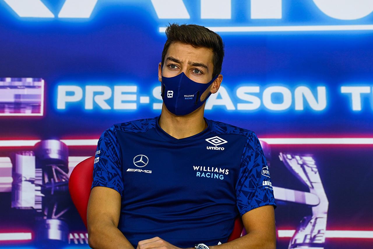 ウィリアムズF1のジョージ・ラッセル 「バーレーンは路面が粗くトリッキーなサーキット」 / 2021年 開幕戦 F1バーレーンGP プレビュー