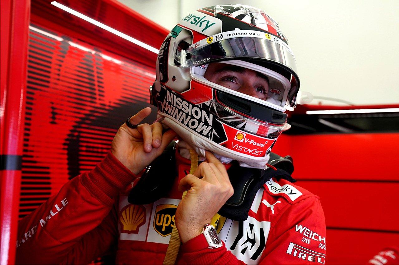 シャルル・ルクレール、2列目4番グリッドは「嬉しいサプライズ」 / スクーデリア・フェラーリ F1バーレーンGP 予選