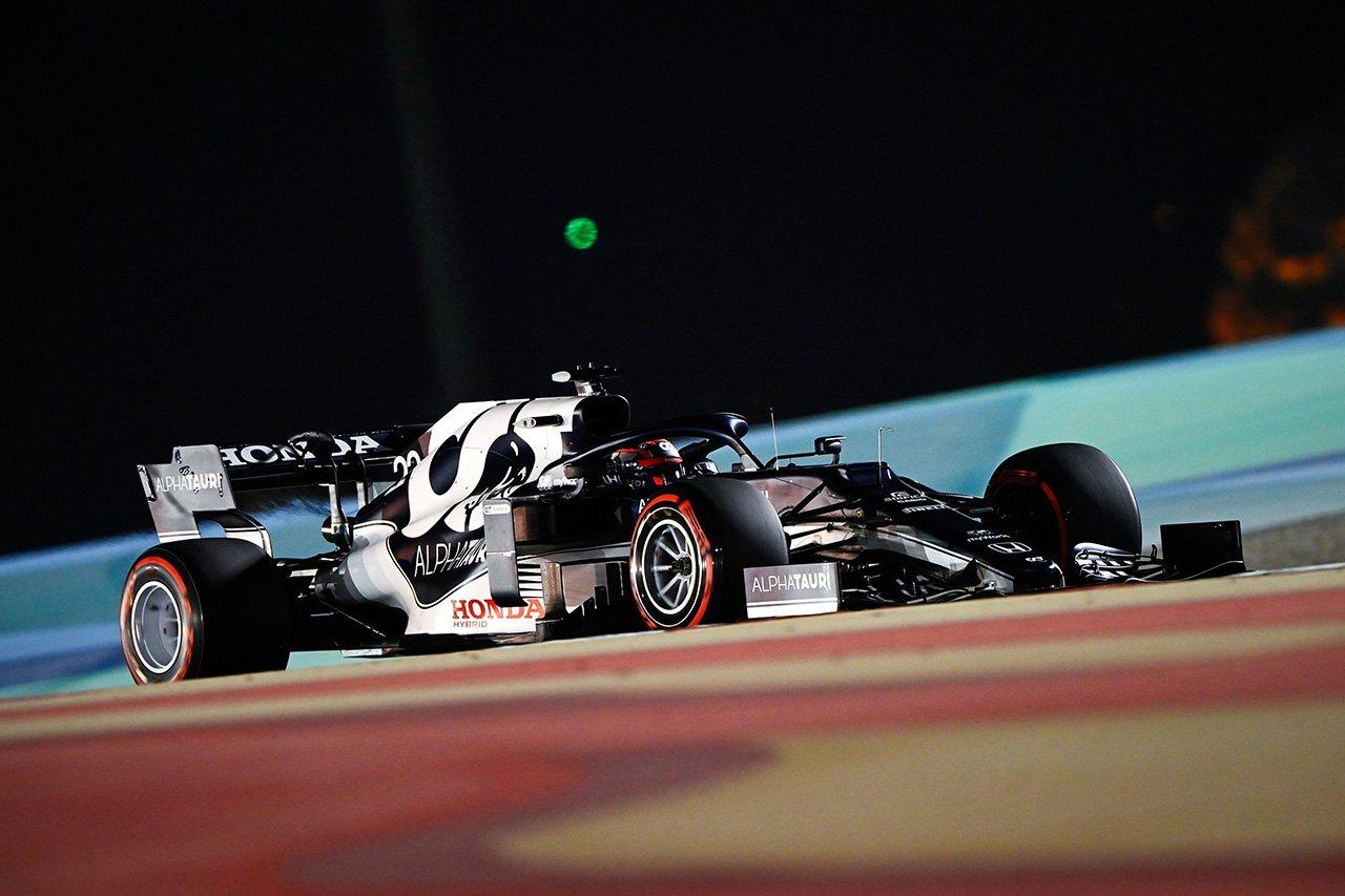 【速報】 F1バーレーンGP 予選Q1:角田裕毅が2番手で通過!