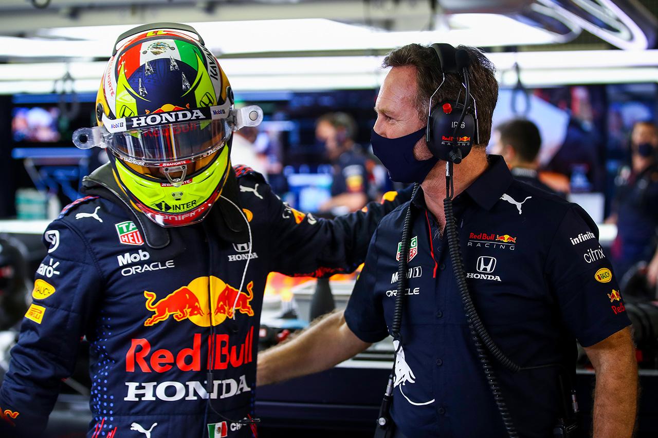 セルジオ・ペレス、Q2敗退11番手「予想外だけどレースで挽回したい」 / レッドブル・レーシング F1バーレーンGP 予選