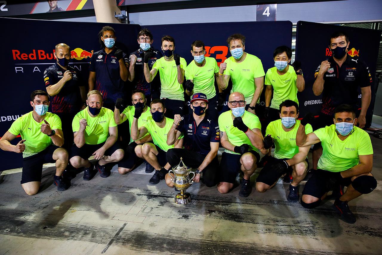 マックス・フェルスタッペン 「ホンダの200回目の表彰台を決められてよかった」 / F1バーレーンGP決勝