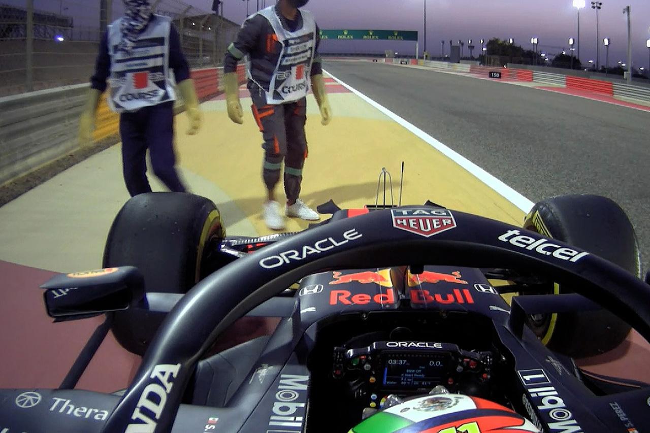 セルジオ・ペレス、5位入賞「フォーメーションラップで終わったと思った」 / レッドブル・レーシング・ホンダ F1バーレーンGP決勝