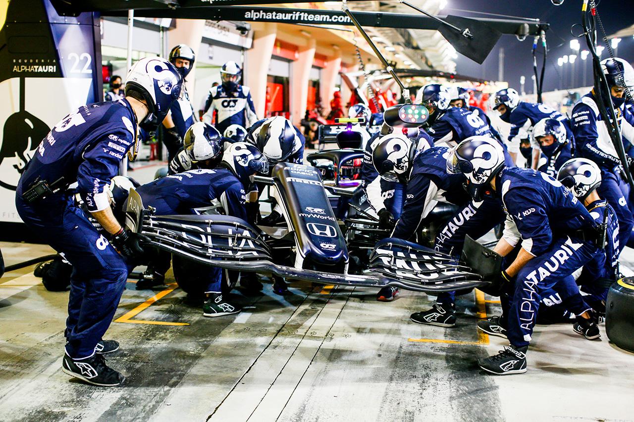 ピエール・ガスリー 「1周目のリカルドとの接触でレースはほぼ終わった」 / スクーデリア・アルファタウリ・ホンダ F1バーレーンGP決勝