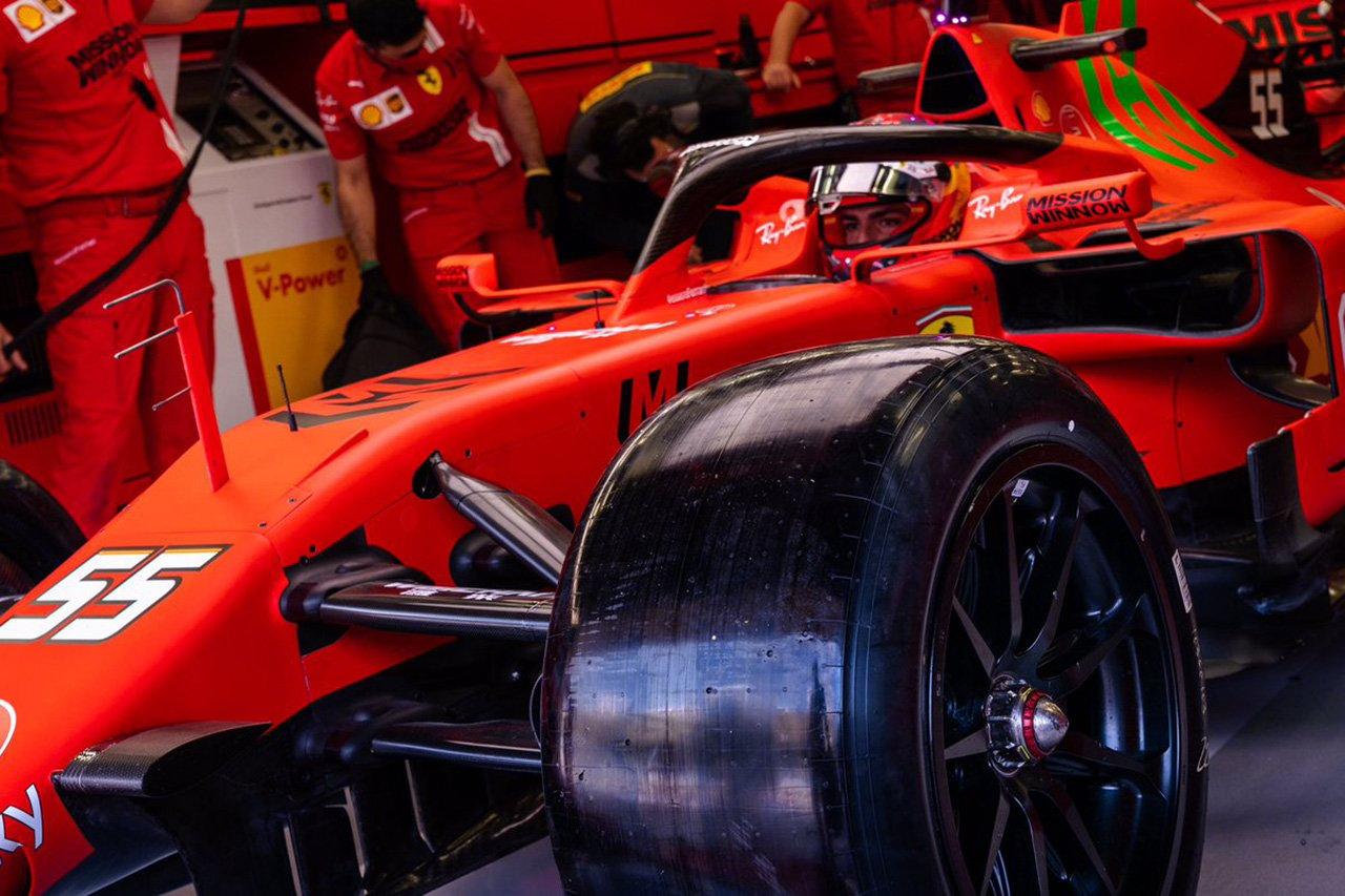 フェラーリF1、18インチタイヤのテストで141周を走破