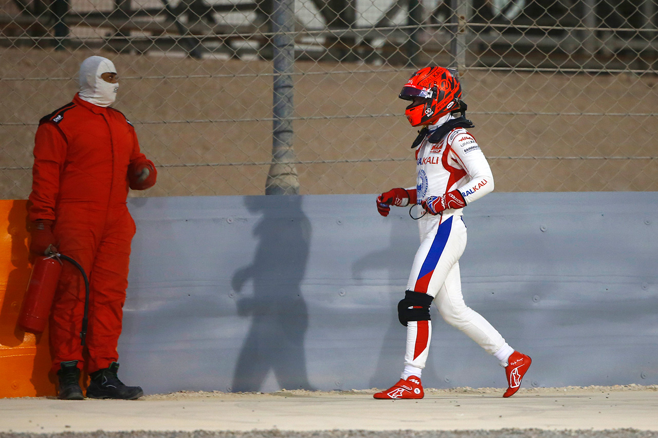 ハースF1チーム代表 「ニキータ・マゼピンはかなり自分を責めていた」