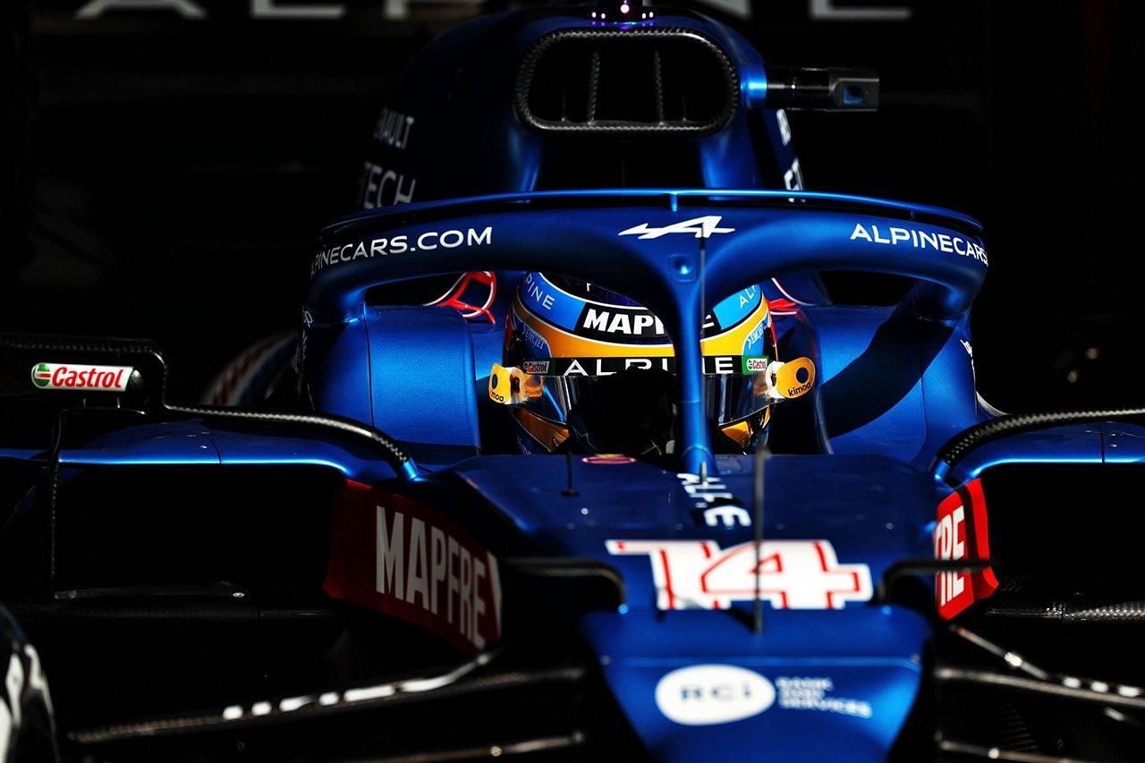 F1復帰戦を終えたフェルナンド・アロンソ 「まだ100%ではない」