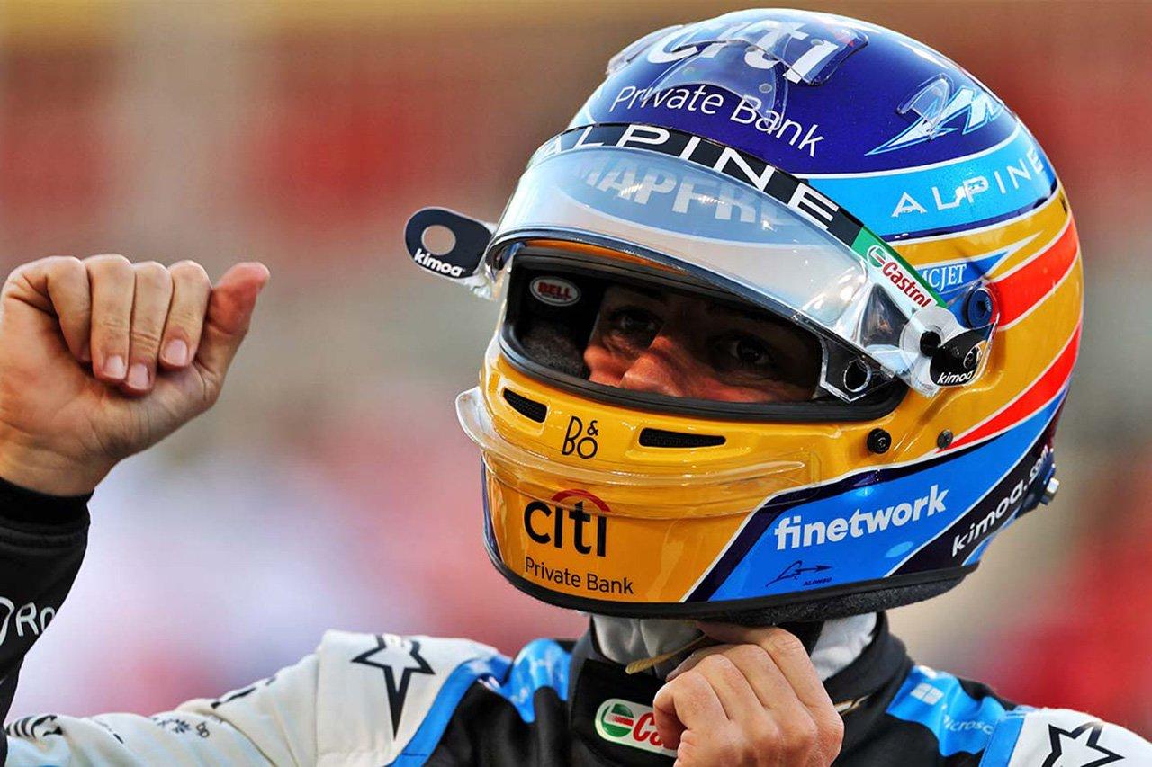 アルピーヌF1のフェルナンド・アロンソ 「僕たちと戦うことはフェラーリにとって悪いニュース」