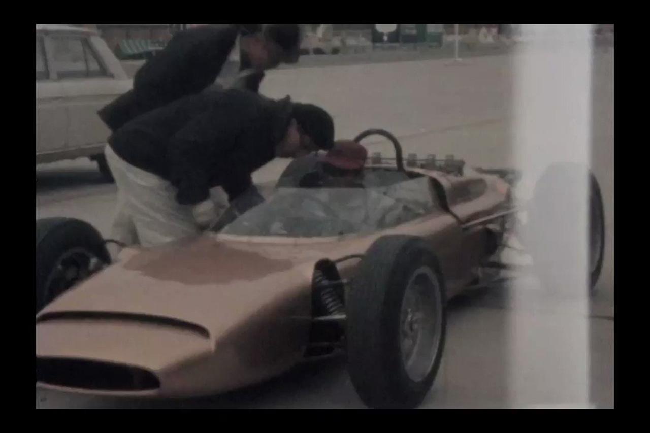 【秘蔵映像】 ホンダF1の始まり。試作車『RA270』の走行シーン