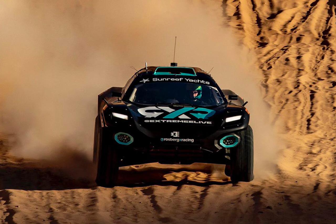 元F1王者ニコ・ロズベルグのXレーシングがエクストリームE開幕戦を制す