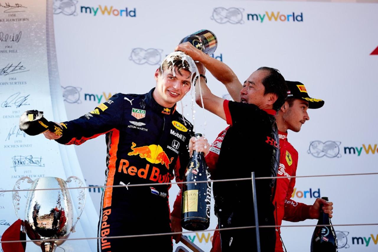 レッドブルF1のマックス・フェルスタッペン 「ホンダF1は最終年に勝ちたいと思っている」