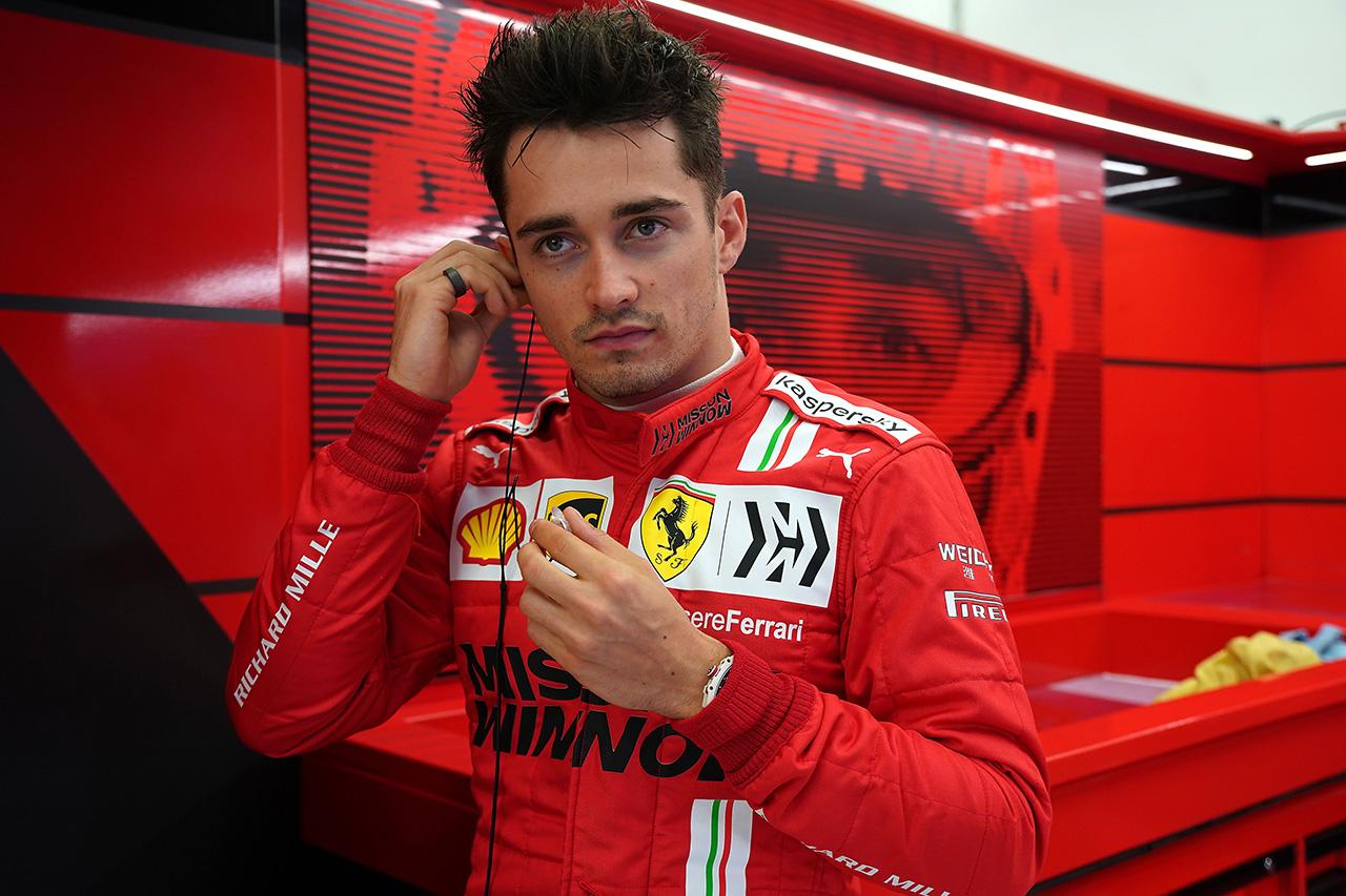 シャルル・ルクレール 「フェラーリF1との契約をさらに延長したい」