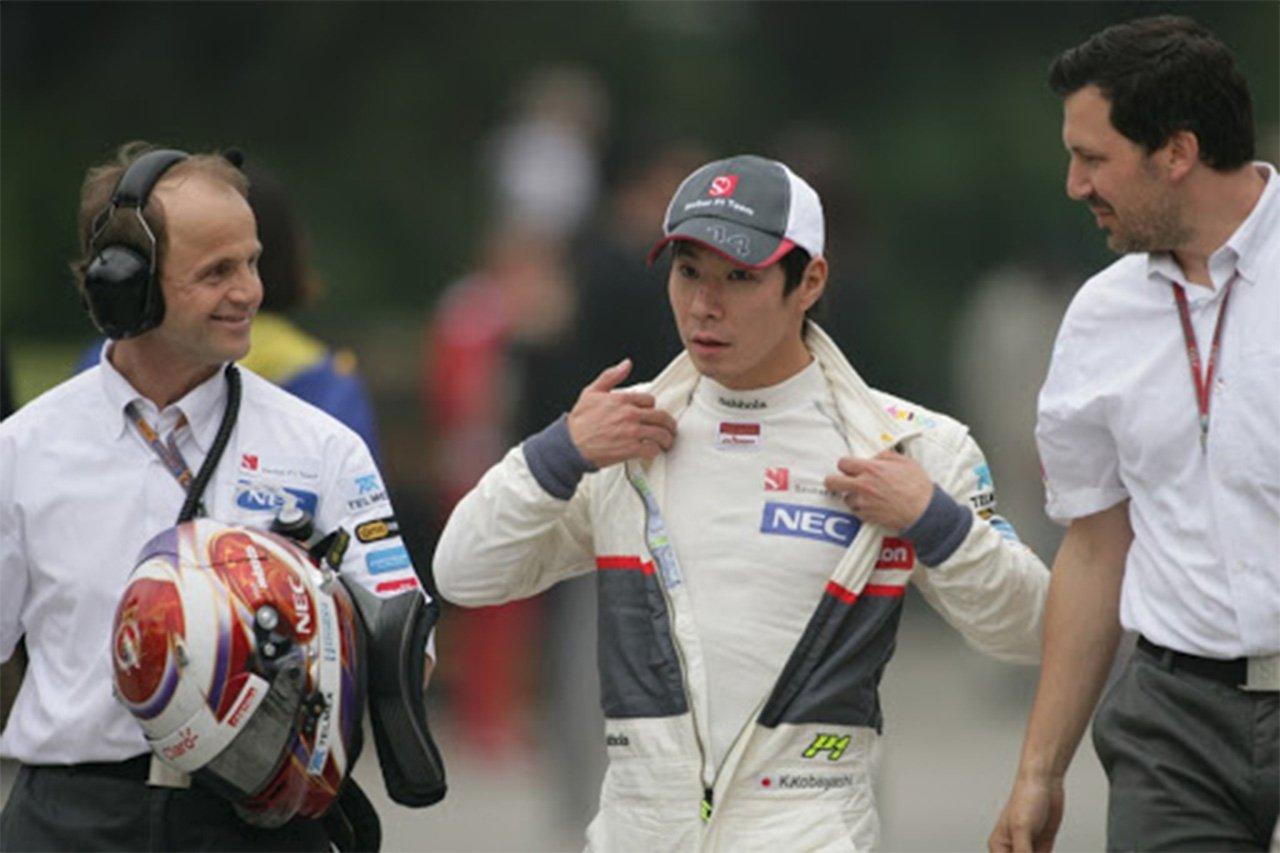 小林可夢偉、ザウバーF1時代に「アロンソを抜いてフェラーリを怒らせた」