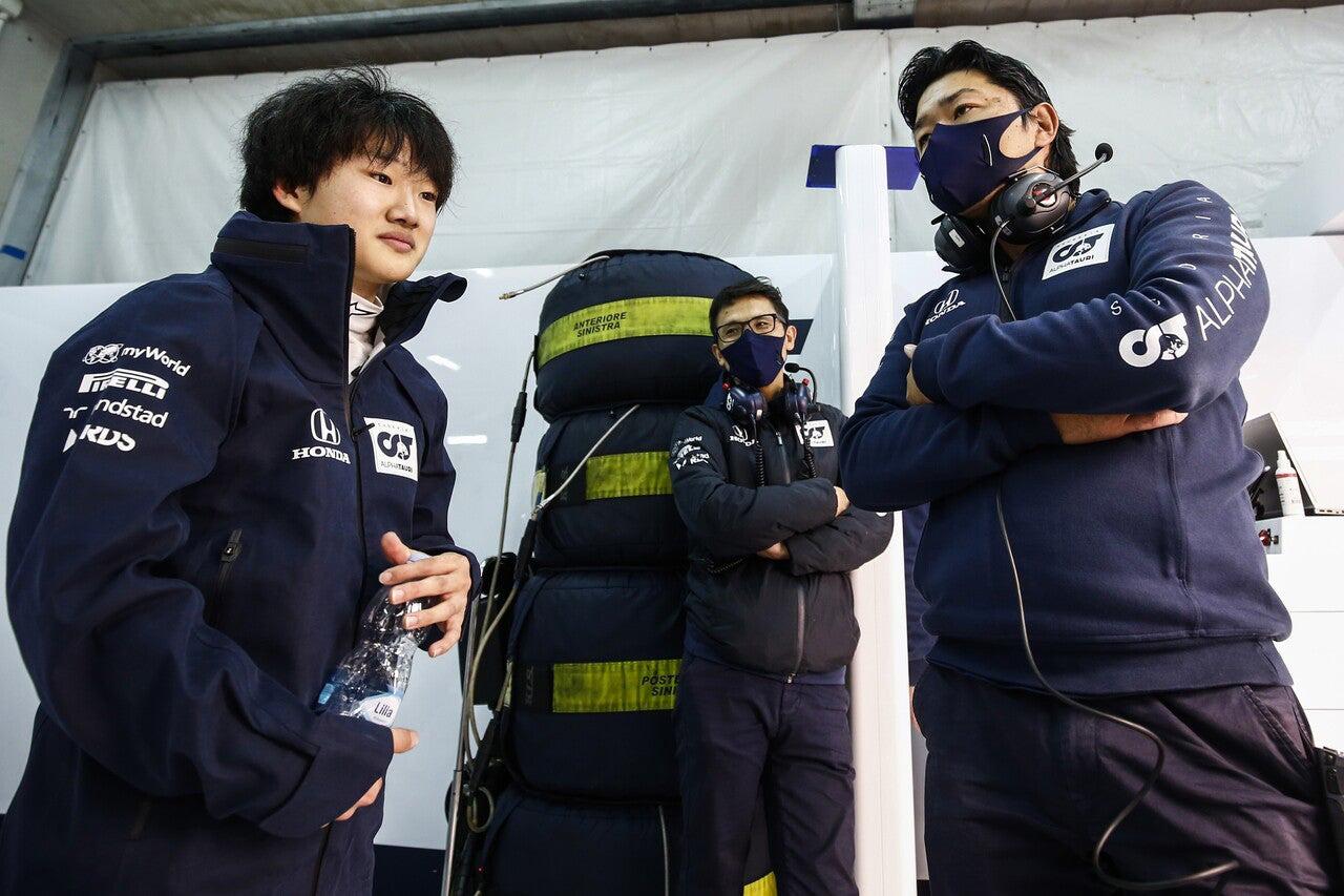 ホンダF1幹部 「角田裕毅は最後にもらった大きなプレゼント」