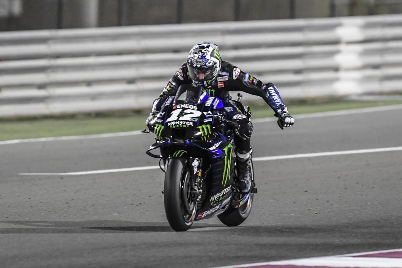 MotoGP 開幕戦 カタールGP 決勝:マーベリック・ビニャーレスが優勝!