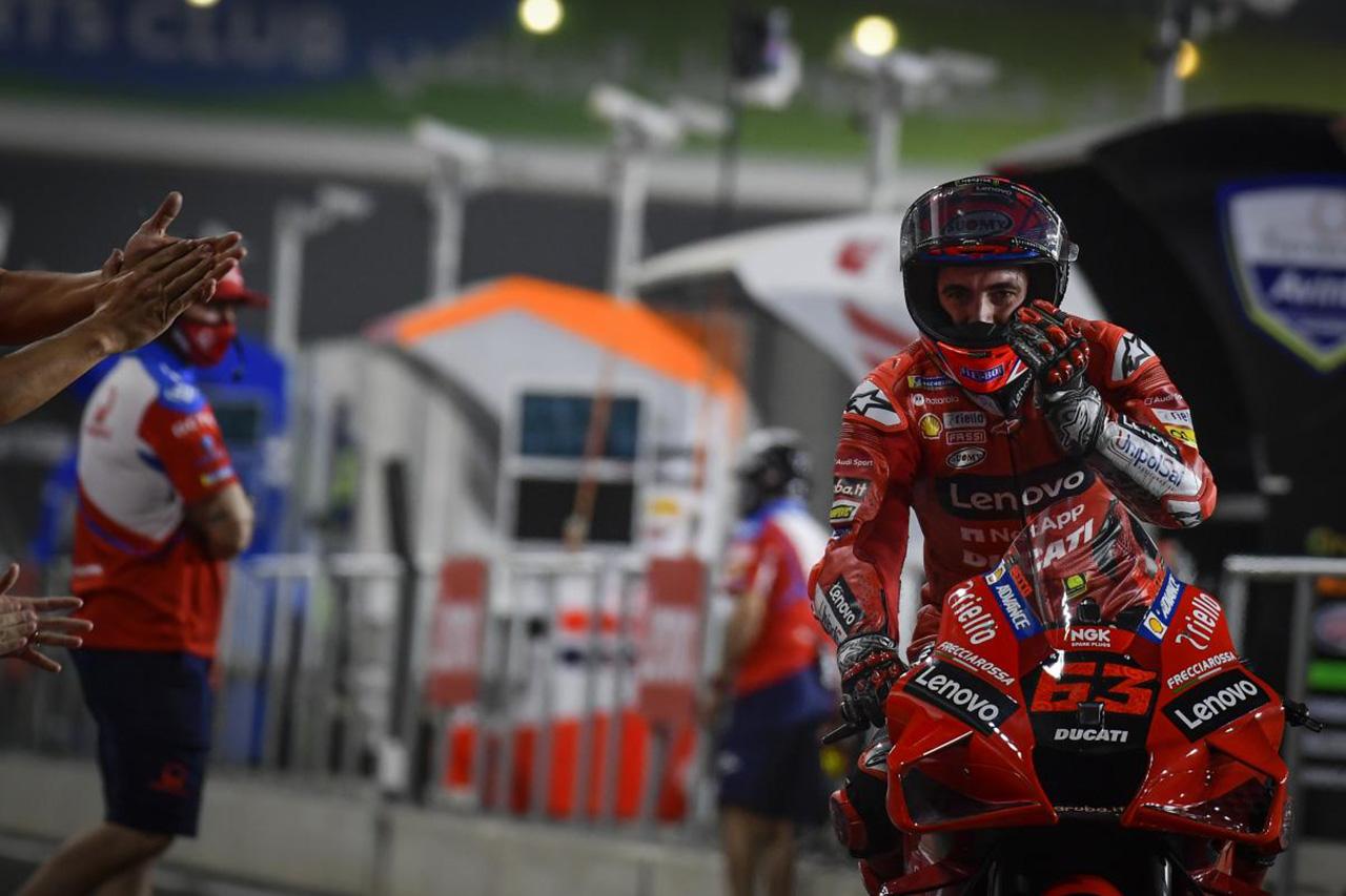 MotoGP 開幕戦 カタールGP 予選:フランチェスコ・バグナイアが初PP