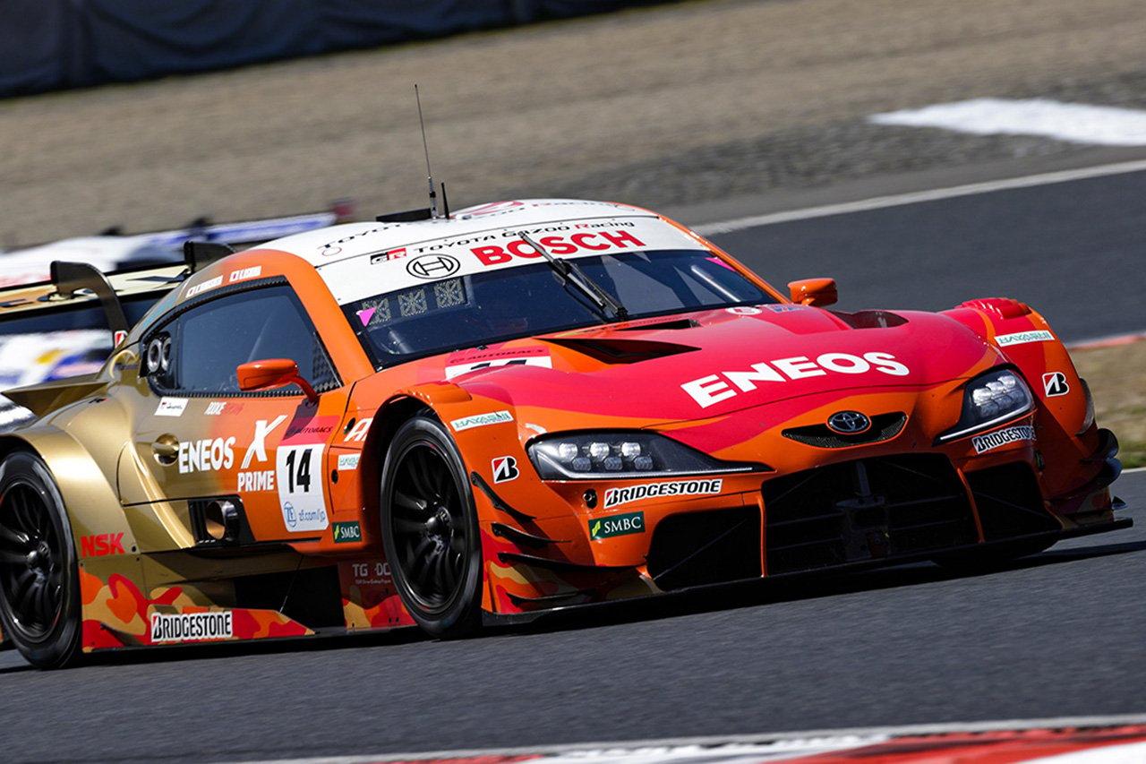 SUPER GT:ENEOS X PRIME GR Supraがスープラ対決を制して優勝! / 2021年 開幕戦 岡山