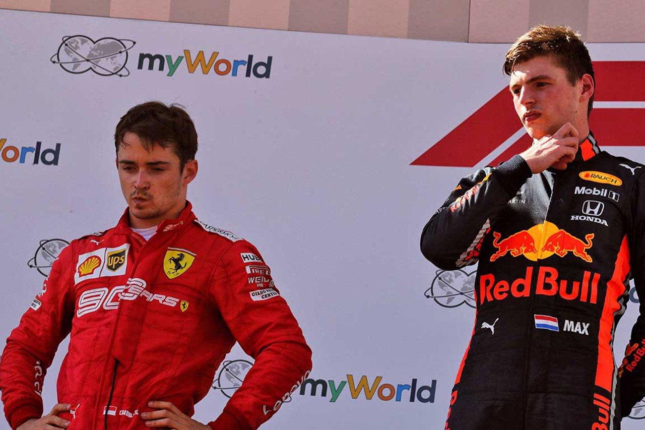 フェラーリF1のシャルル・ルクレール 「フェルスタッペンとのバトルで攻撃性が目覚めた」