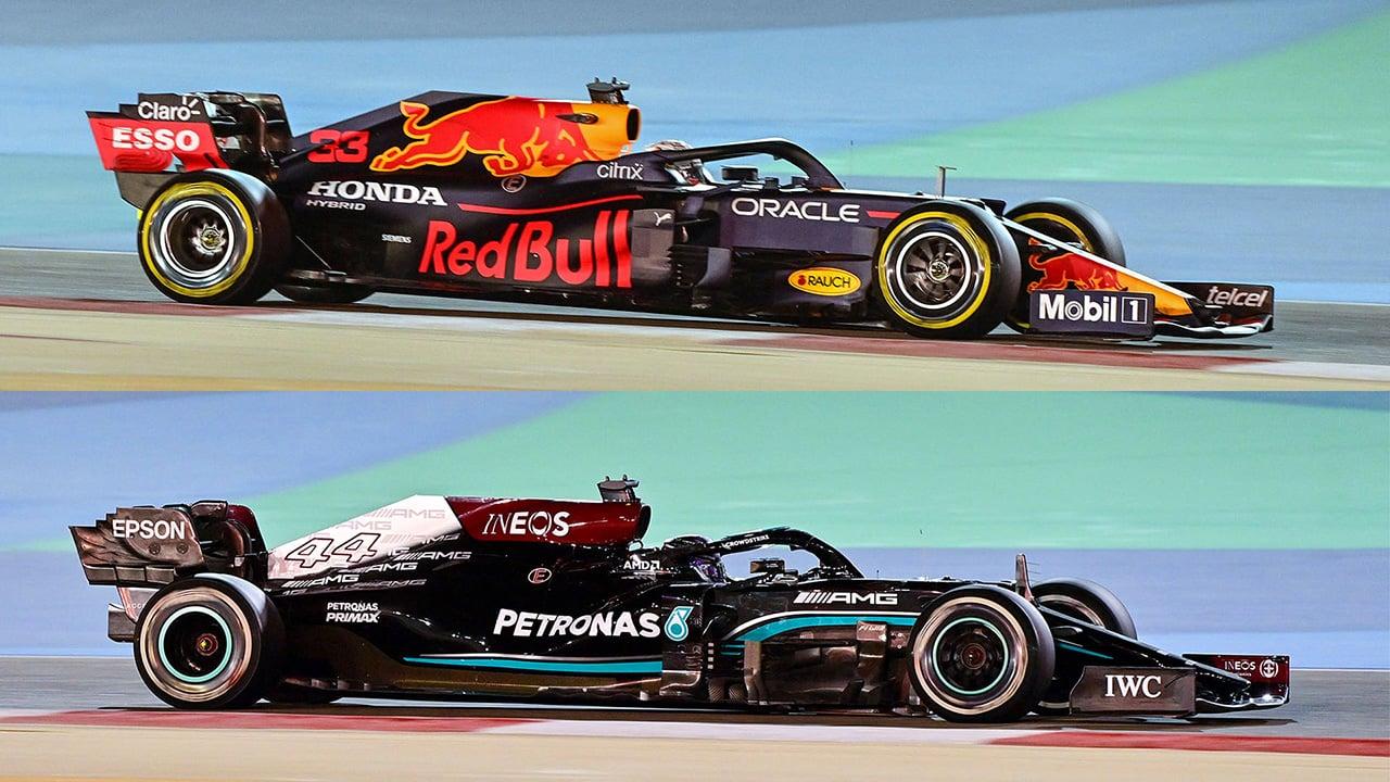2021年F1マシン:レーキ角